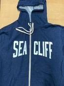 Image of Sea Cliff 'MoonLiter' Zip Up Hooded Sweatshirt