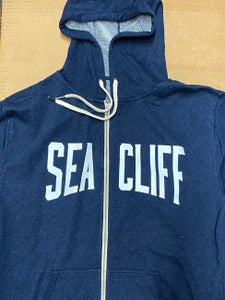 Image of Sea Cliff 'MoonLiter' Zip Up Hooded Sweatshirt