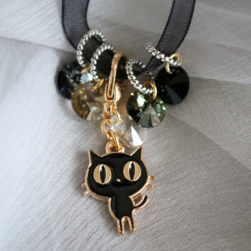 Image of LIL' ALLEY CAT Crystal Stitchmarkers