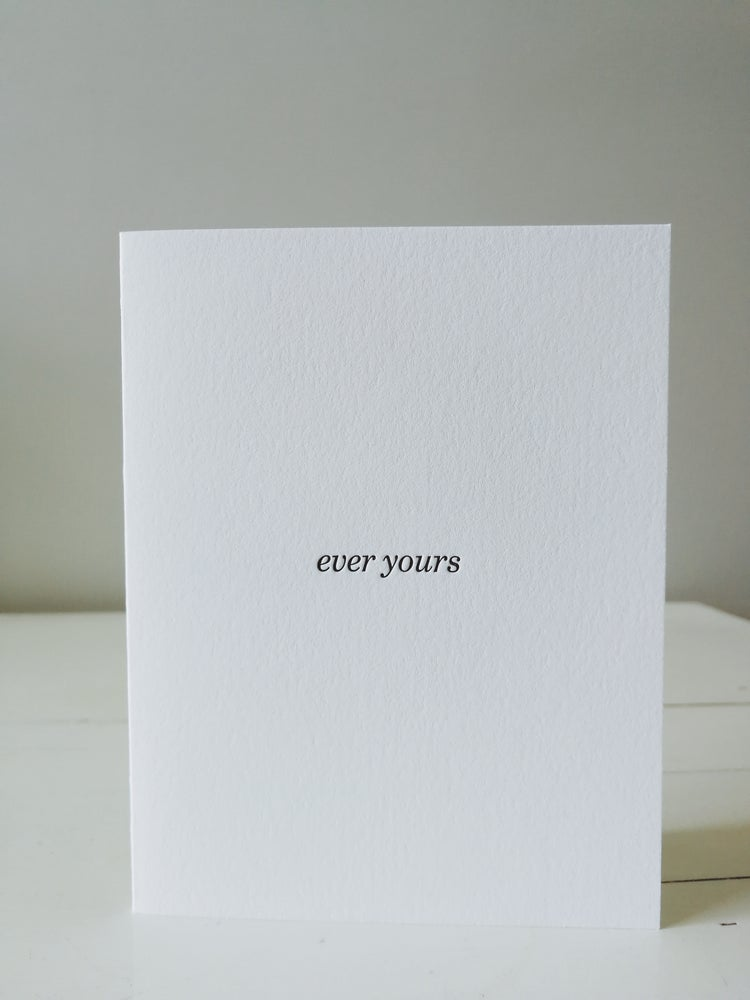 Image of ever yours