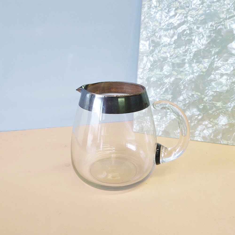 Image of Silvered Glass Pitcher by Dorothy Thorpe