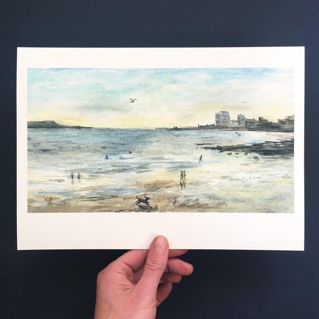 Image of Wardie Bay 3rd August - Giclée Print