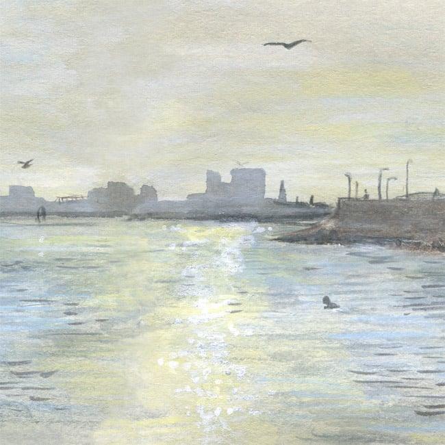Image of Wardie Bay 12 August - Giclée Print