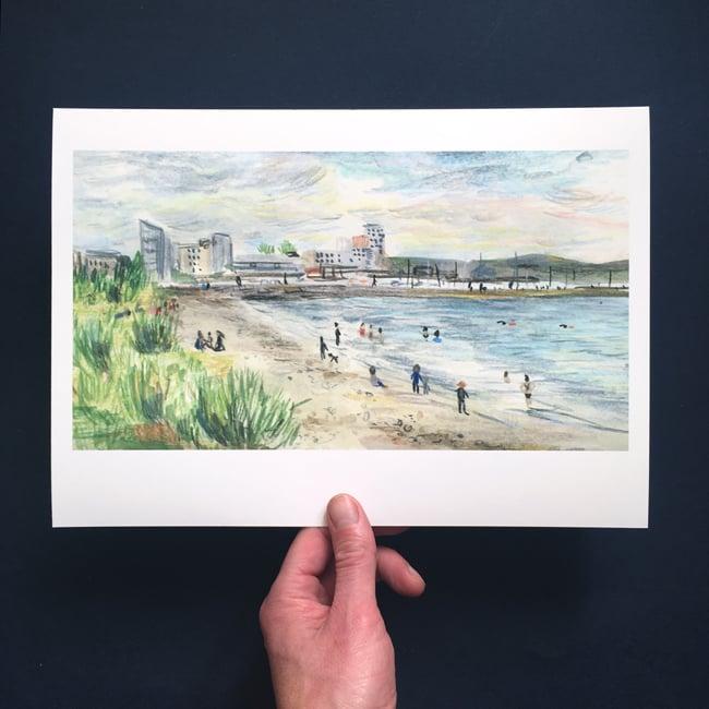Image of Wardie Bay 6 August - Giclée Print