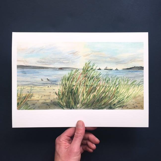 Image of Wardie Bay 29 July - Giclée Print