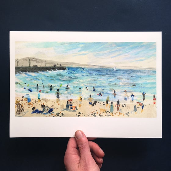 Image of Wardie Bay 25 June - Giclée Print