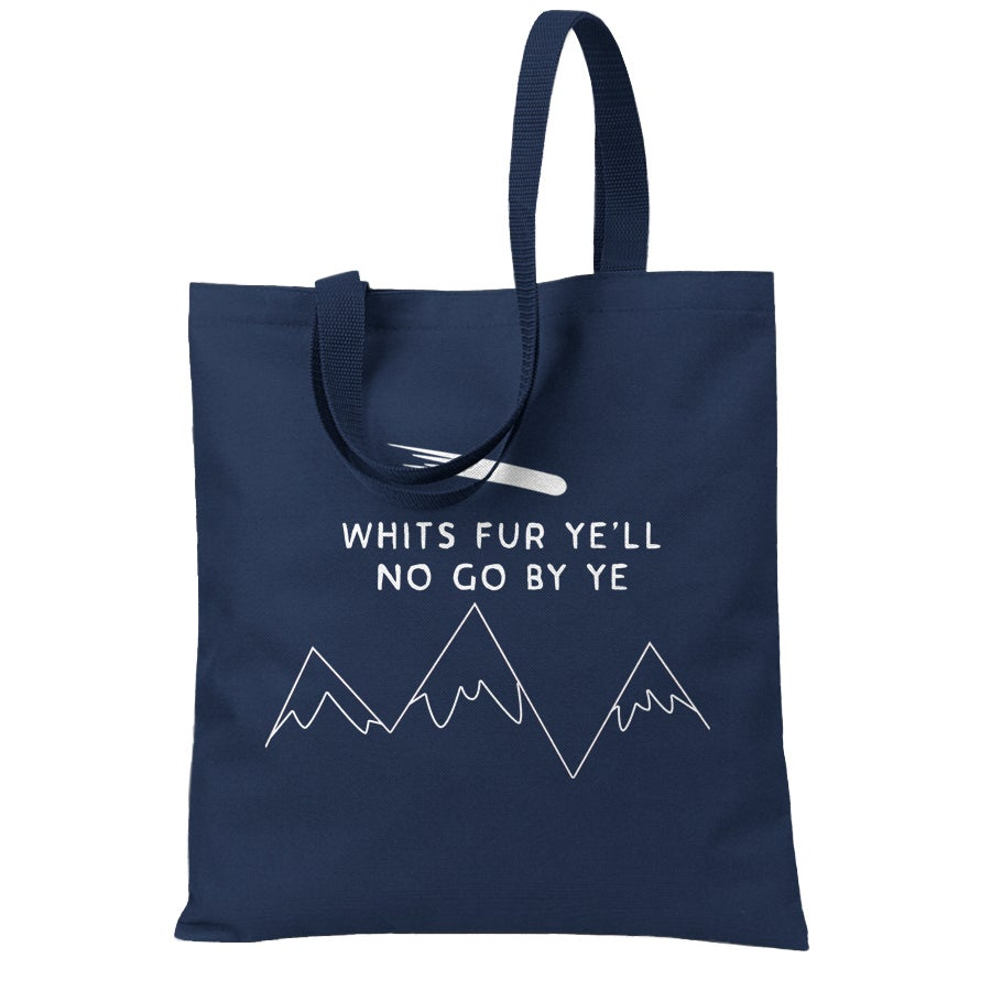 Image of 'Whits fur ye'  <html> <br> </html> (Tote Bag)
