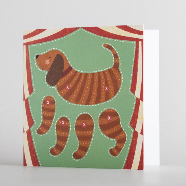 Image of Pack of 7 Puppet Greetings Cards
