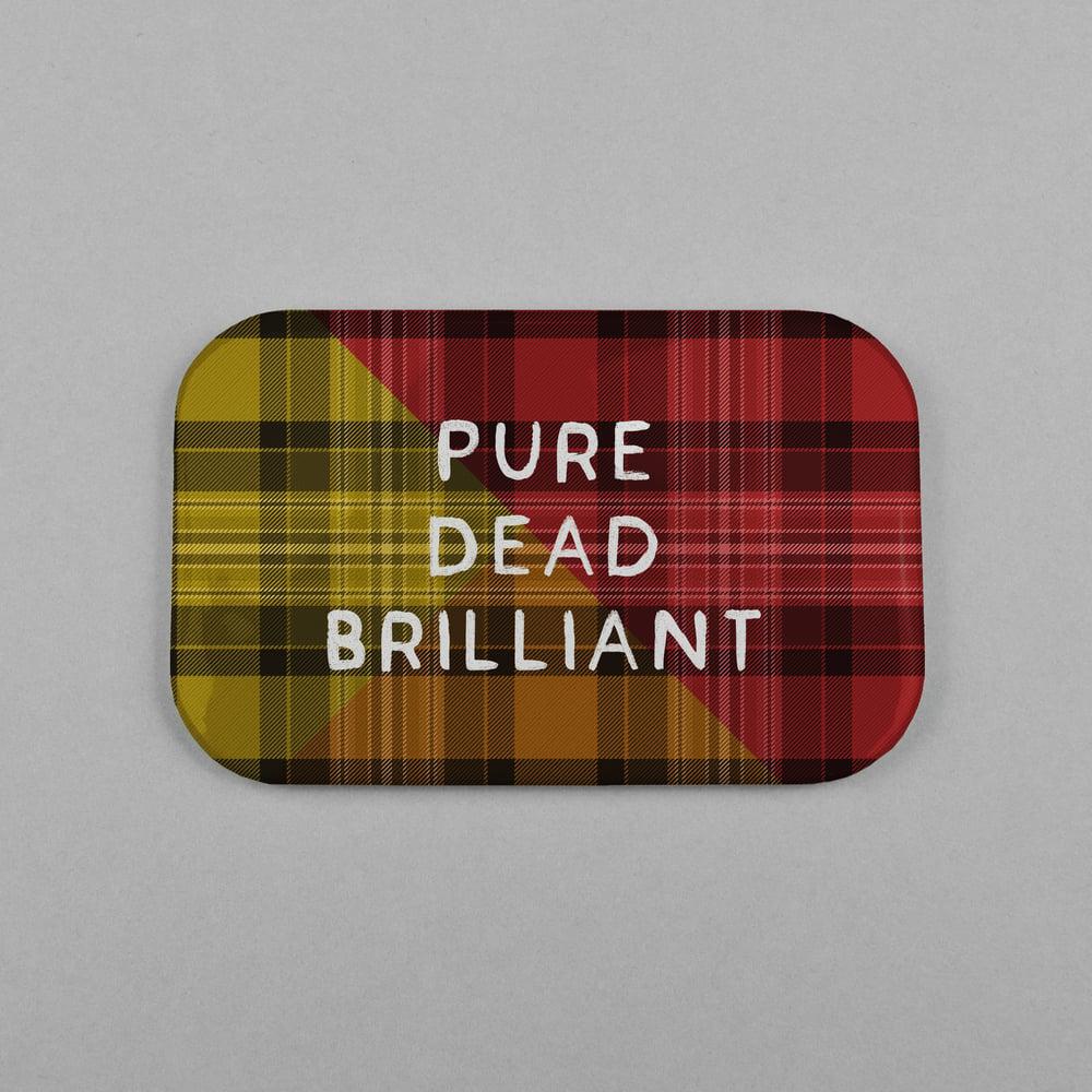 Image of 'Pure Dead Brilliant' (Magnet)