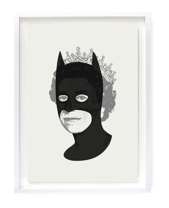 Image of Rich Enough To Be Batmans Skull (mono variant)