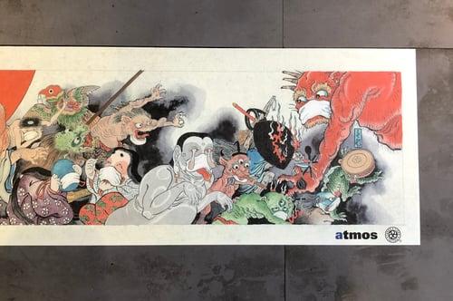 Image of atmos x TTT MASK YOKAI PRINT