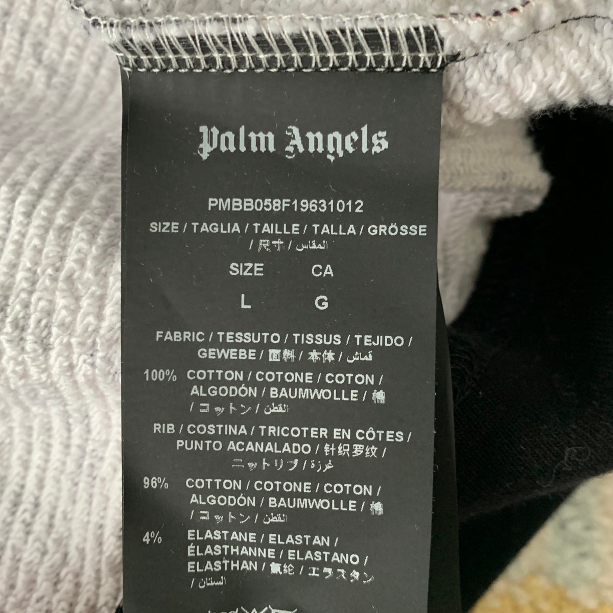 Image of Women's Palm Angels Ransom Print Hoodie