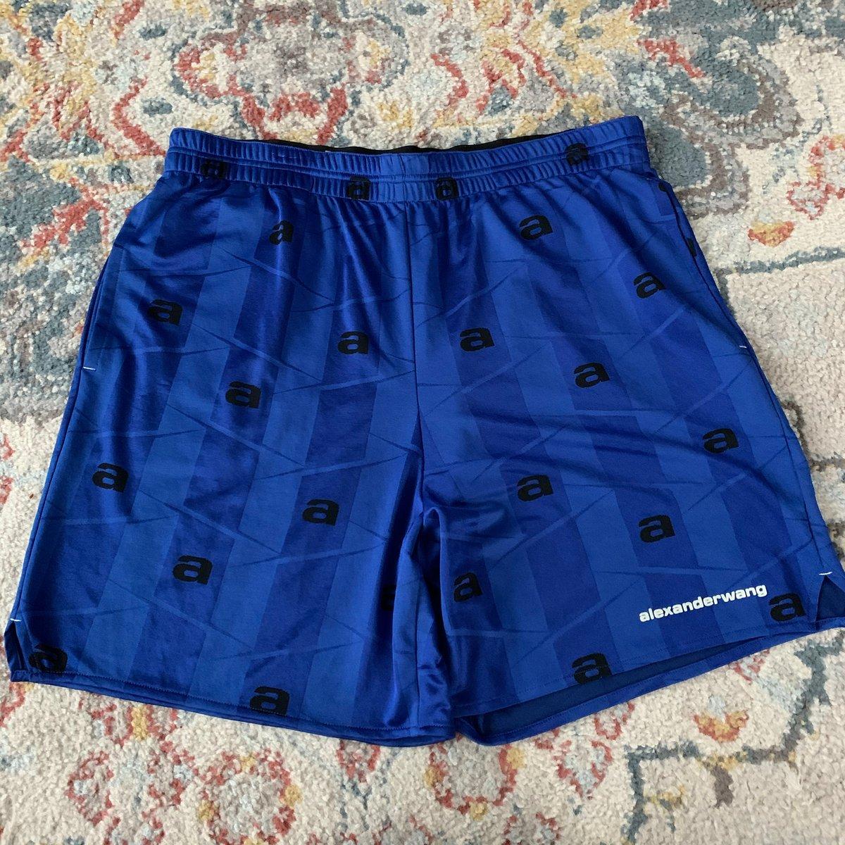 Image of Men's Alexander Wang Jacquard Jersey Shorts