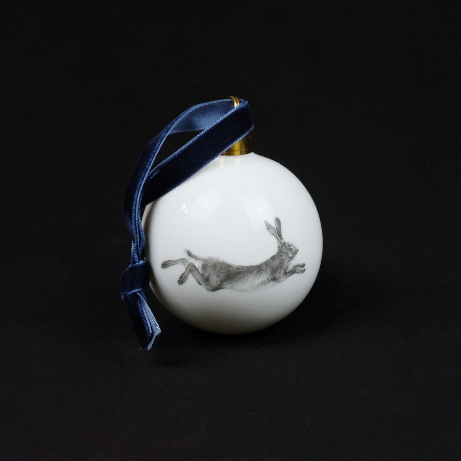 Image of Casey Allum - Christmas Bauble - Hare