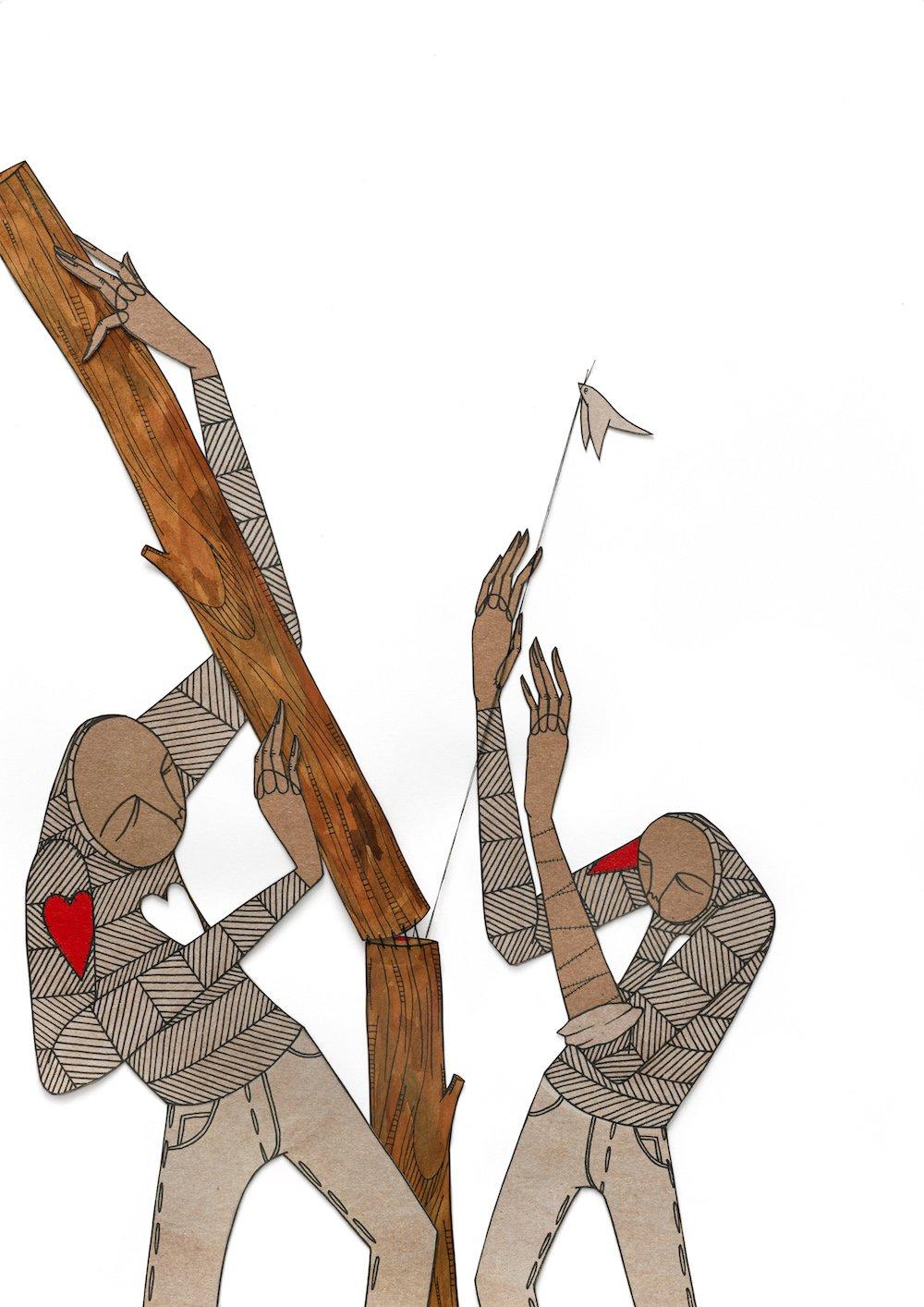 Image of 'Reconstructing a Limb' Print