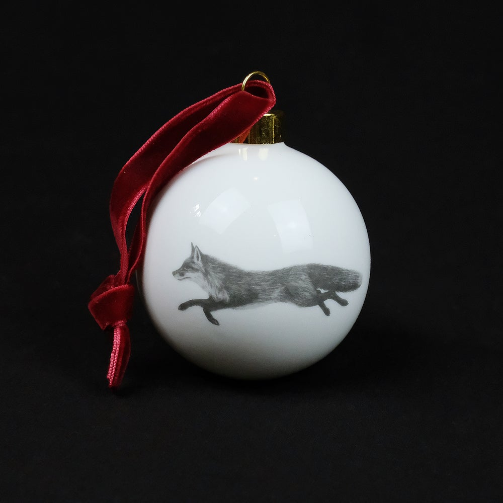 Image of Casey Allum - Christmas Bauble - Fox