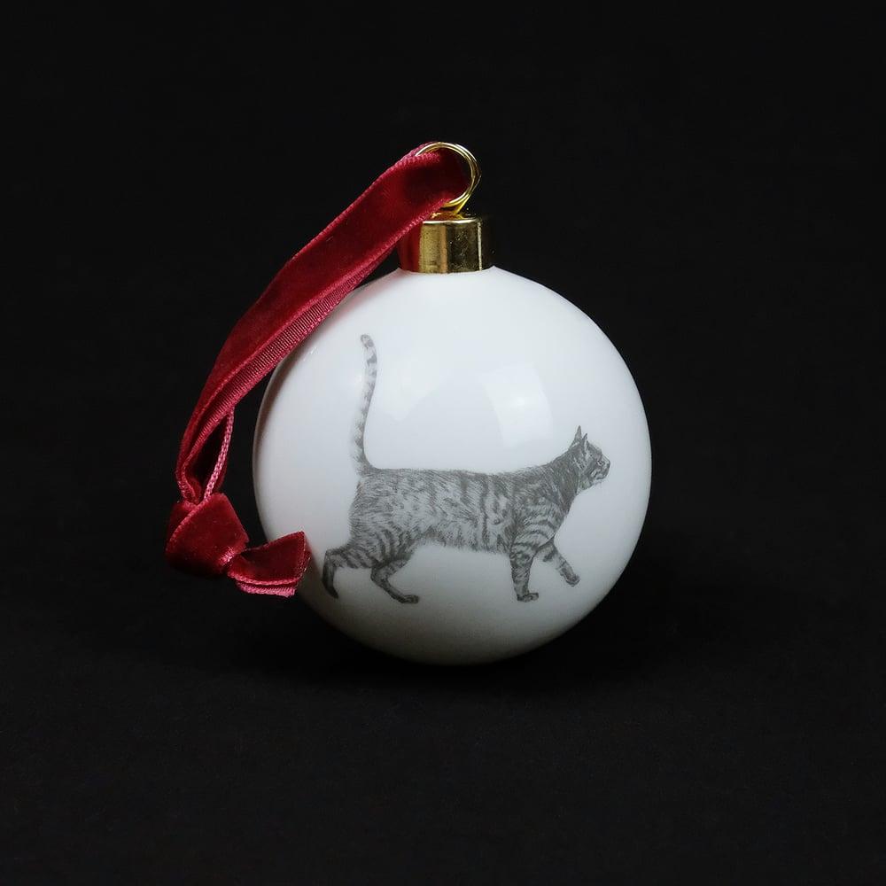 Image of Casey Allum - Christmas Bauble - Cat