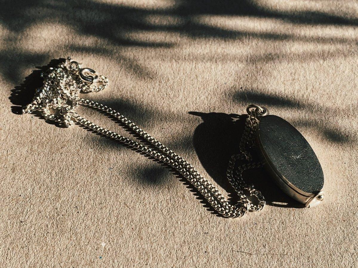Image of Silver Locket Necklace