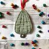 Textile Christmas Tree Decoration
