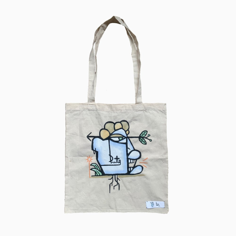 Flower Face Tote