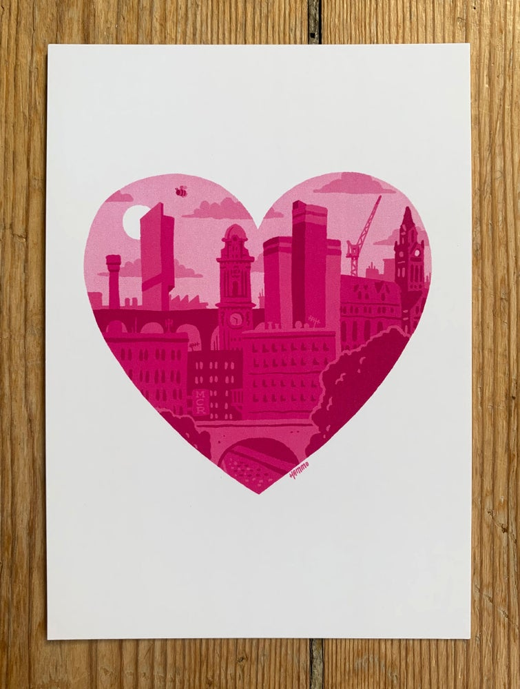 Image of ❤️ Manchester Postcard