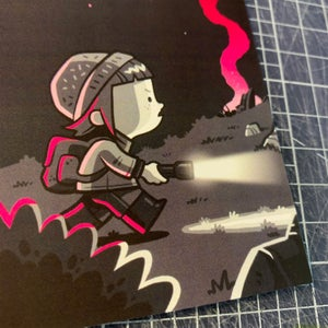 Image of The Explorer Postcard