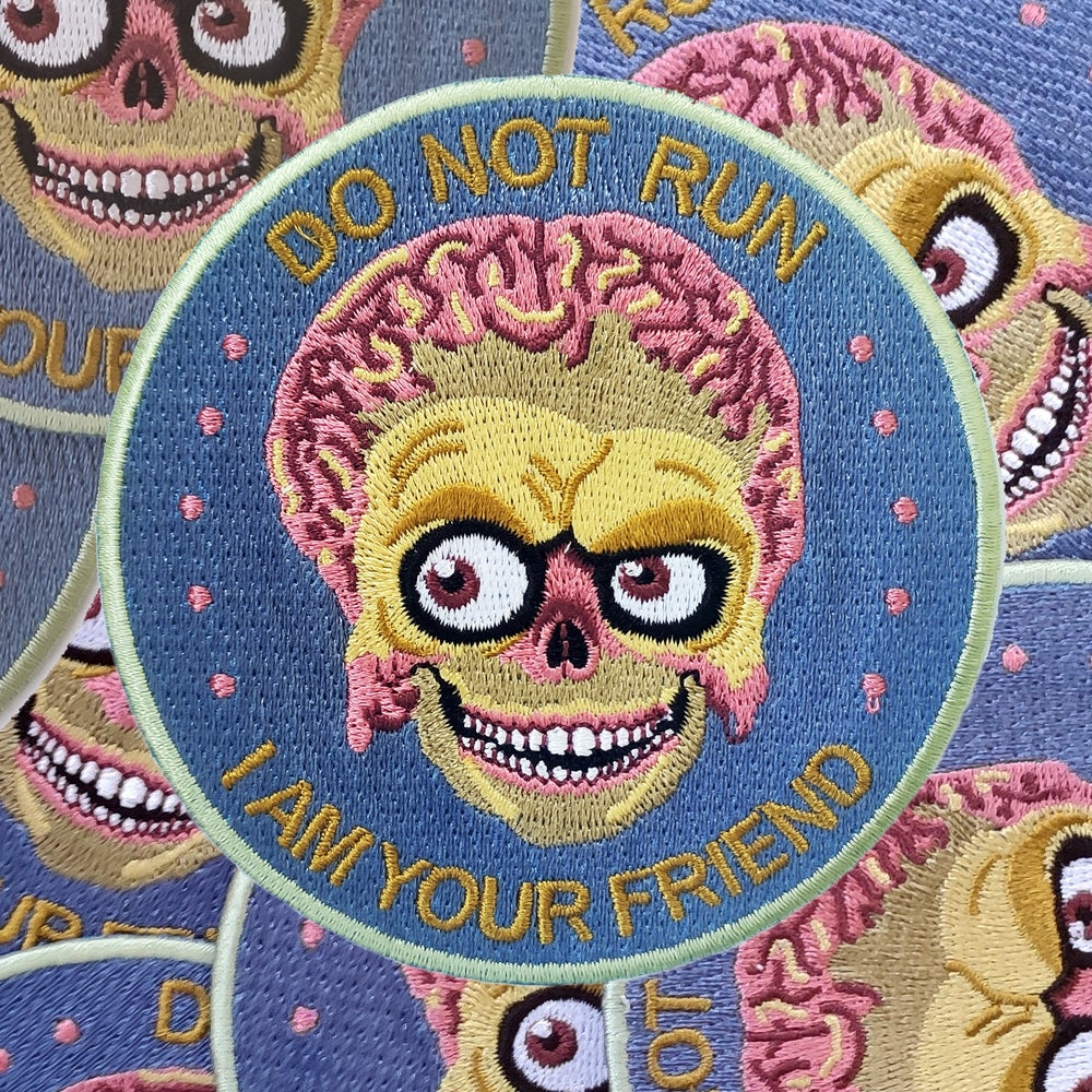 Image of Do Not Run patch