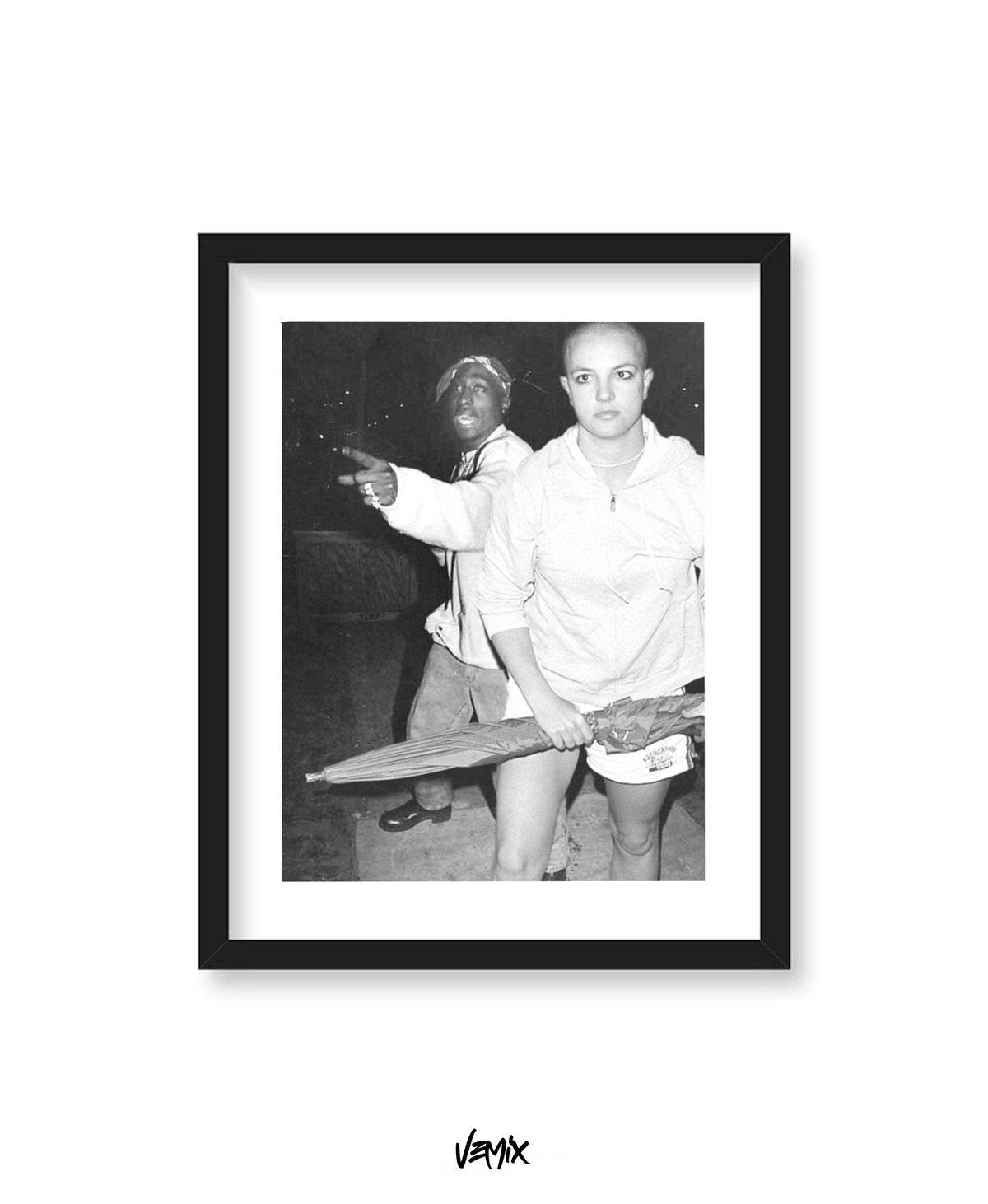 Image of 6ft - Print/Tee
