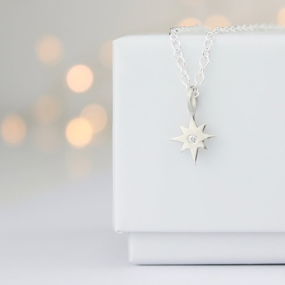 Image of North Star, guide me home, necklace