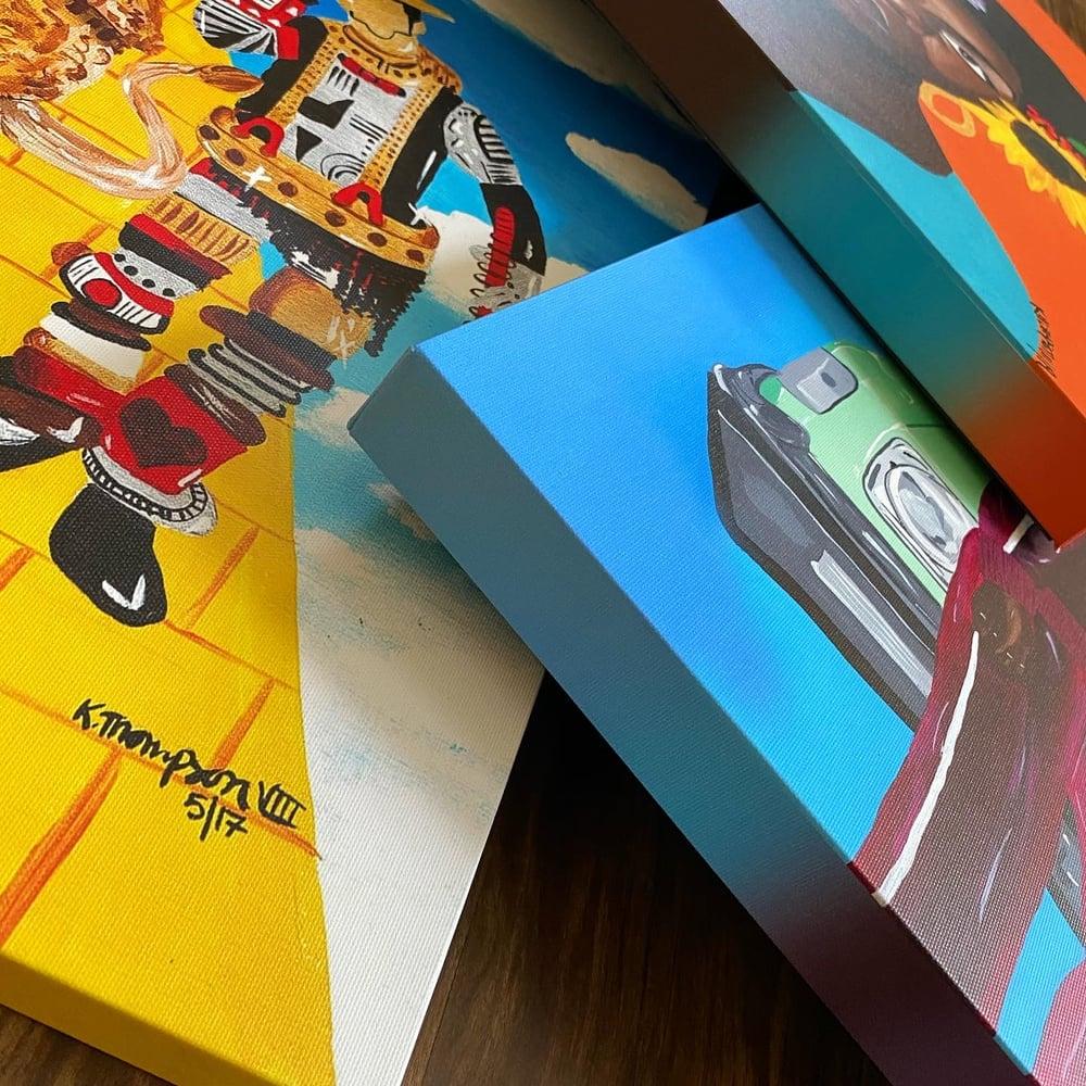 SAMPLE SALE - Stretched Canvas Prints