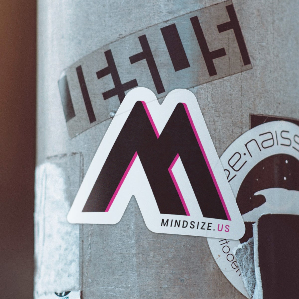 Image of M Sticker