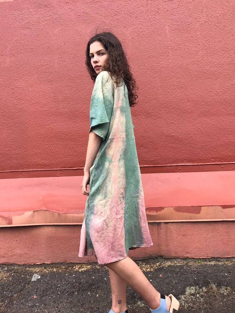 Image of Hand Dyed Gauze Dress
