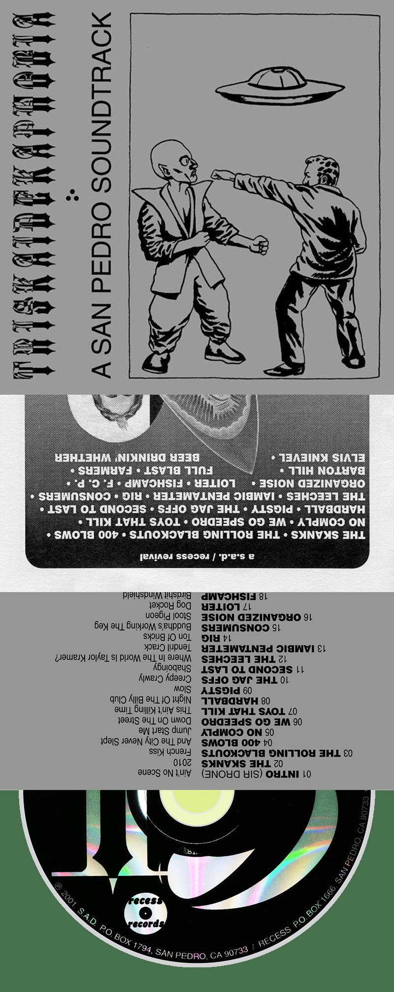 VARIOUS ARTISTS - Triskaidekaphobia: A San Pedro Soundtrack → cd