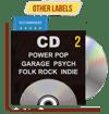 CD Indie, Folk-Rock, Garage, PowerPop...