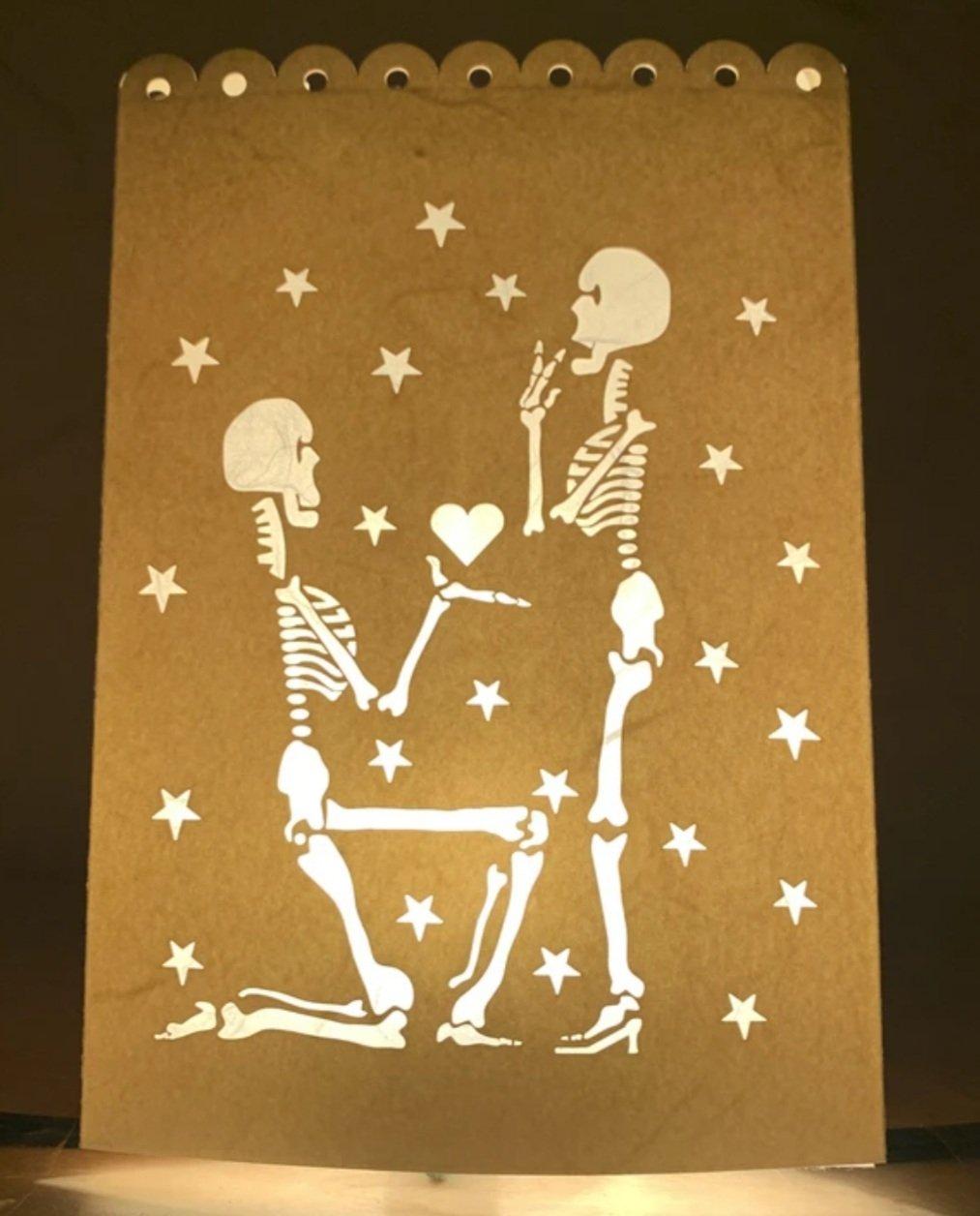 "Image of ""I Give You My Heart"" Luminaria"
