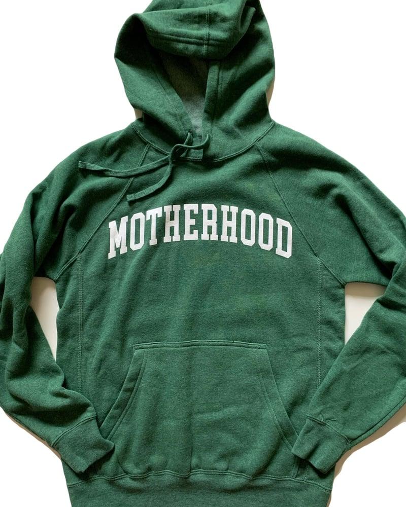 Image of MOTHERHOOD SWEATSHIRT (GREEN)