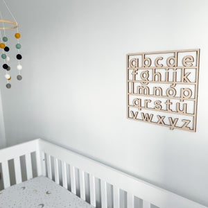 Image of alphabet board