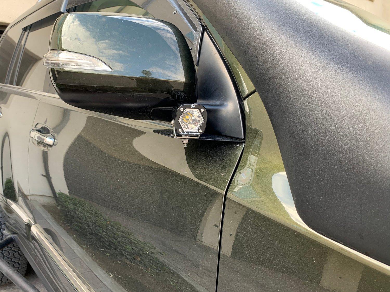 Image of GX460 Ditch Light Brackets