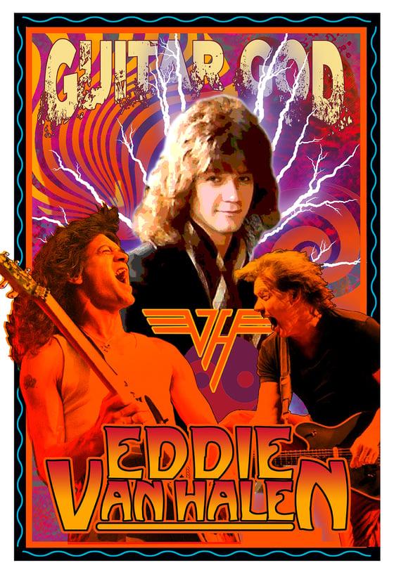 Image of GUITAR GOD: Eddie Van Halen 1955-2020