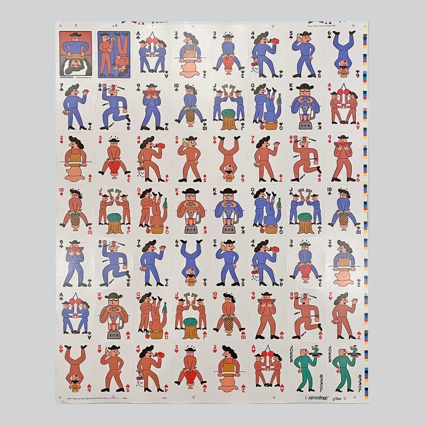 Image of H&S Uncut Sheet