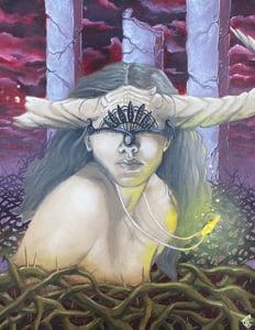 Image of Pasiphae's Secret 11x14 Oil on Canvas