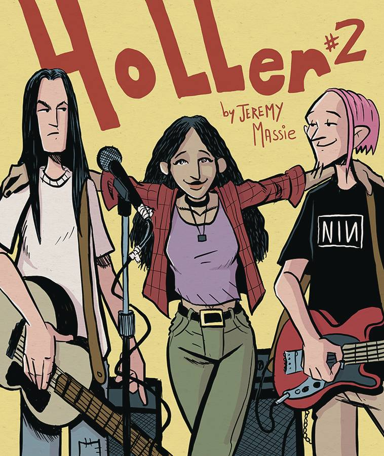 Image of HOLLER #2 (Cover A)