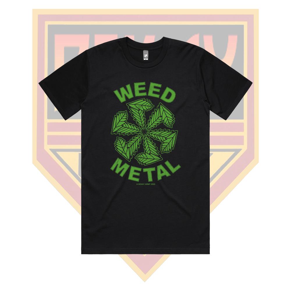 WEED METAL T-SHIRT