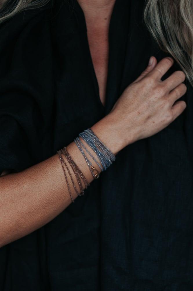 Image of Grey Moonstone Wrap