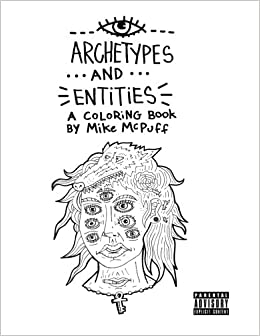 Image of Archetypes and Entities: An Adult Coloring Book