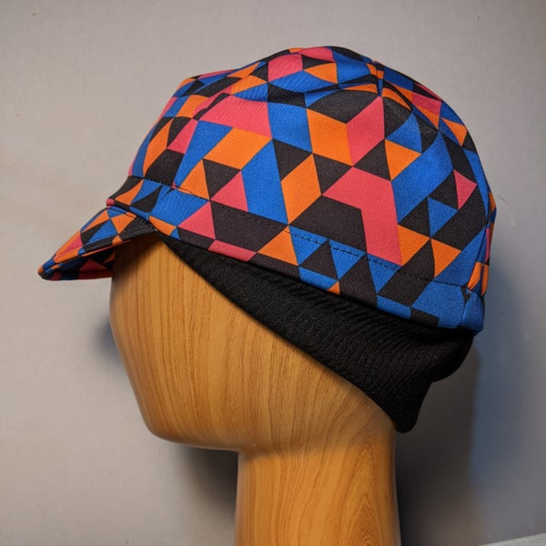 Image of Cycling cap - Softshell geometric winter cap