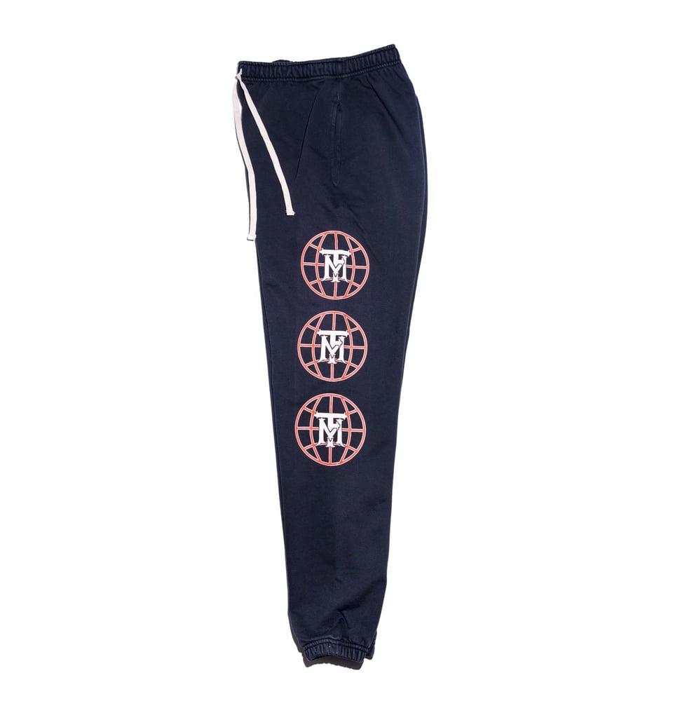 Image of Intl Sweatpants- Vintage Black