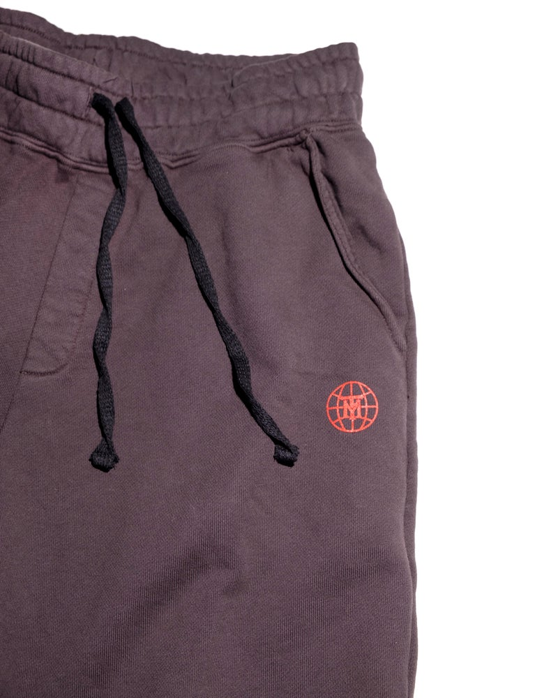 Image of Small Face Globe Shorts- Charcoal