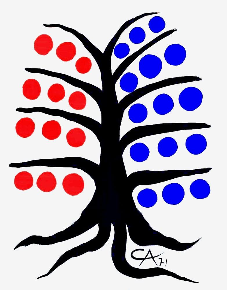 Image of poster / calder / tree
