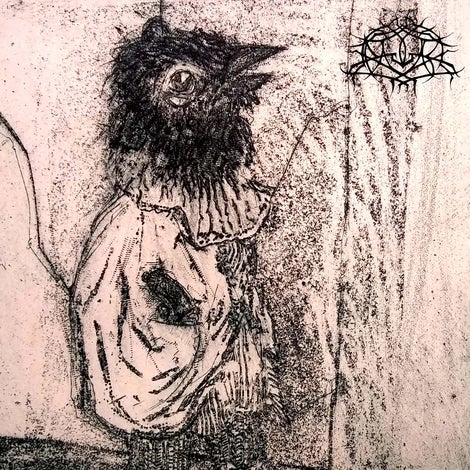 Image of Krallice / Geryon - Wolf / Astomatous split LP